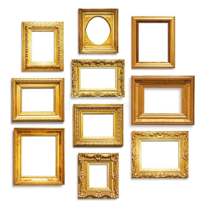 Strutture dell'oro immagine stock