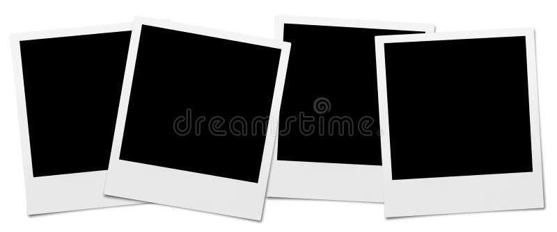 Strutture della macchina fotografica istantanea fotografia stock