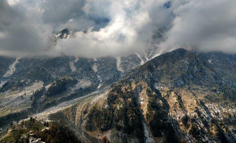 Strutture della montagna fotografia stock