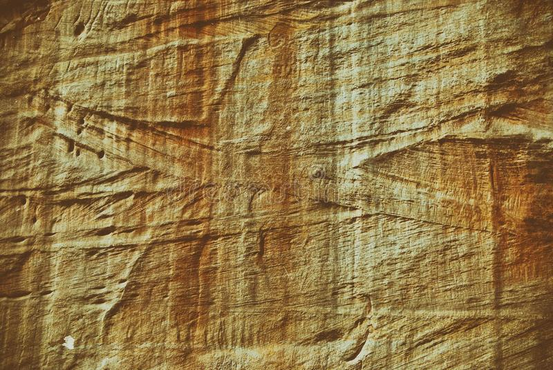 Strutture della roccia trovate in arenaria dell'Utah fotografie stock libere da diritti