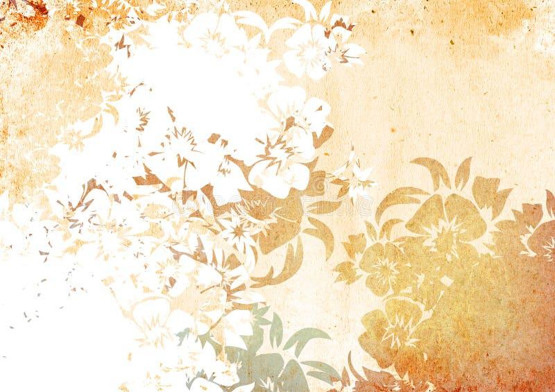 Strutture ed ambiti di provenienza di stile dell'Asia royalty illustrazione gratis