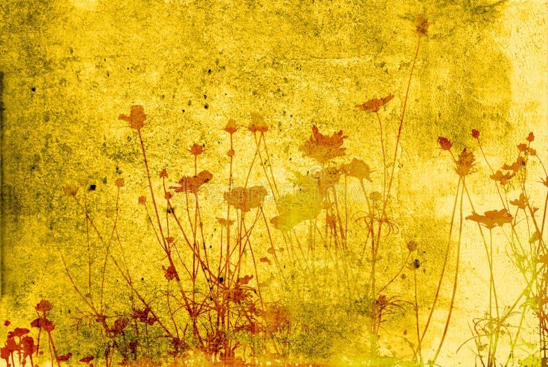 Strutture floreali royalty illustrazione gratis