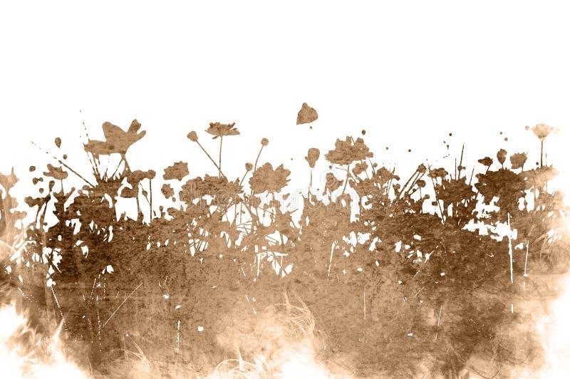Strutture floreali illustrazione di stock