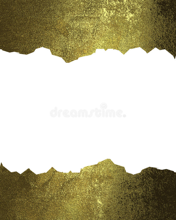 Strutture incrinate dell'oro Elemento per progettazione Mascherina per il disegno copi lo spazio per l'opuscolo dell'annuncio o l royalty illustrazione gratis