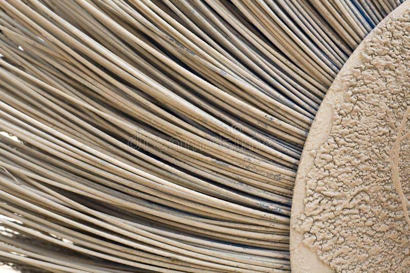 Strutture - spazzola metallica del _ fotografie stock