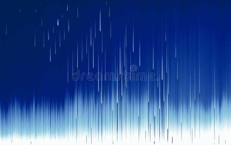 Strutturi la linea la separazione distorta del pixel difettoso illustrazione vettoriale