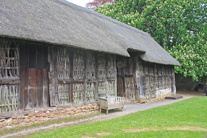 Stryd Lydan Barn, Wales stock photo