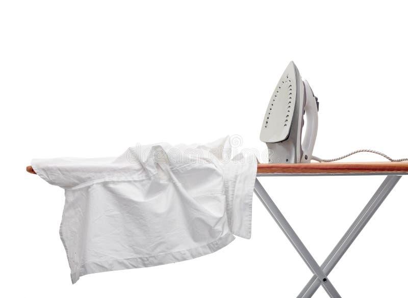 stryka för kläder arkivfoton