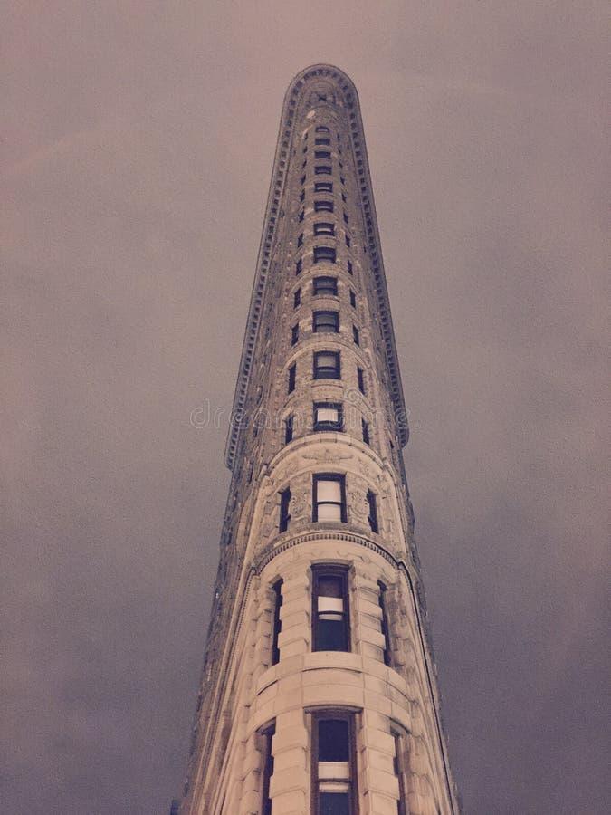 Strykjärnbyggnad i NYC fotografering för bildbyråer