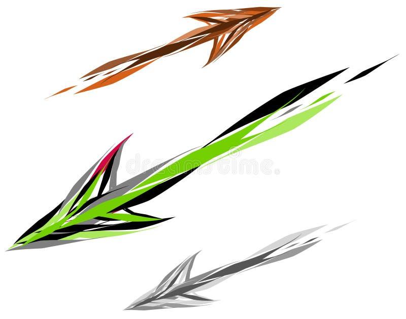 strzała, ilustracji