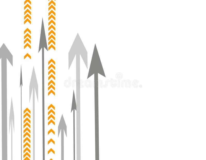 strzała dużo illustra położenie ilustracja wektor