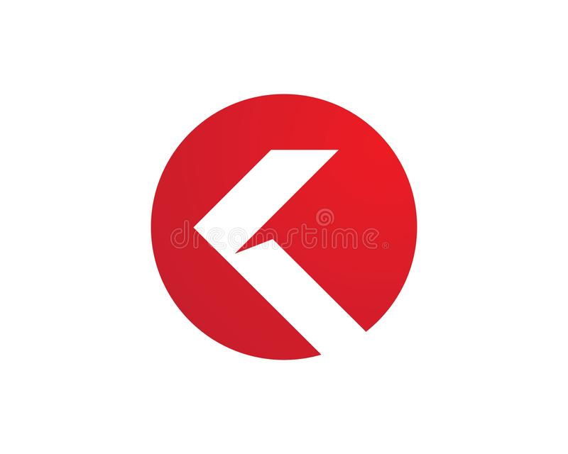 Strzała ikony wektorowy ilustracyjny logo ilustracja wektor