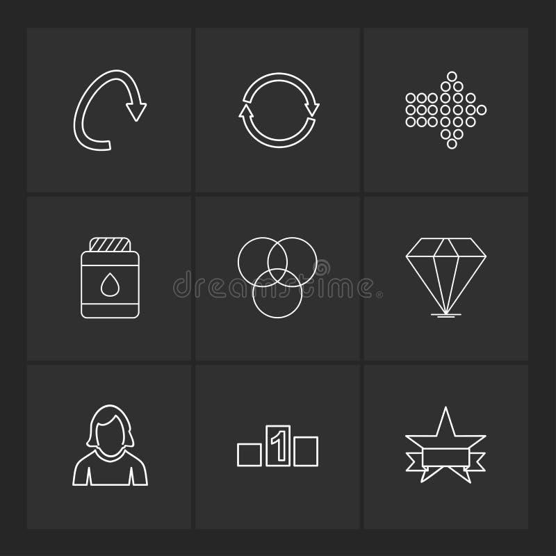 strzała, kierunki, avatar, ściąganie, upload, apps, użytkownik ja ilustracji