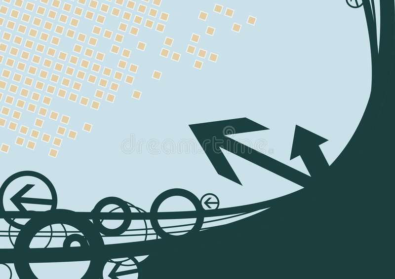 strzała tło ilustracja wektor