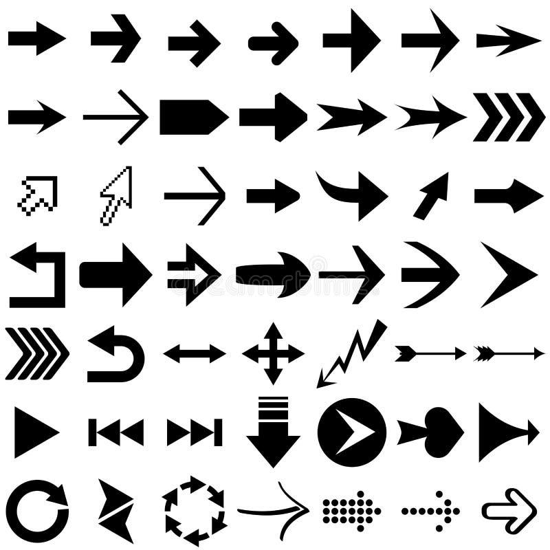 strzałkowaci kształty royalty ilustracja
