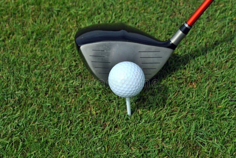 strzału golfowy zabranie zdjęcia stock
