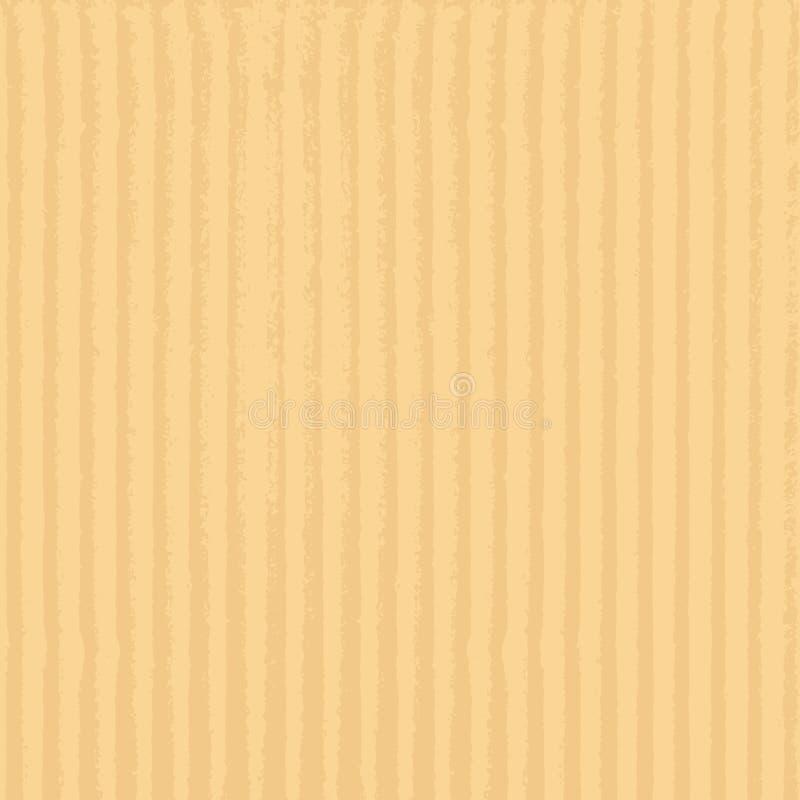 strzały kartonowe blisko konsystencja Realistyczna Wektorowa Kartonowa tekstura blisko tła papier się zapas ilustracji