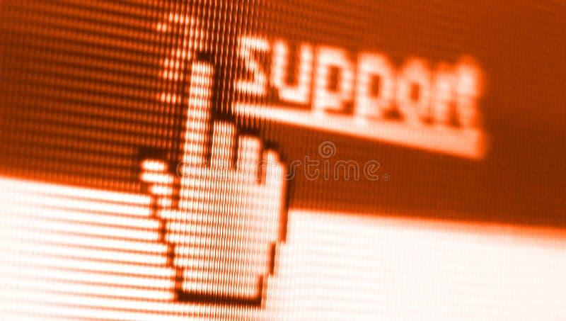 strzały wsparcia ekranu zdjęcie stock