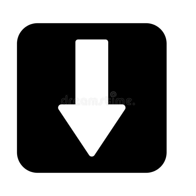 Strza?kowatej ikony projekta Wektorowy p?aski styl - wektor royalty ilustracja