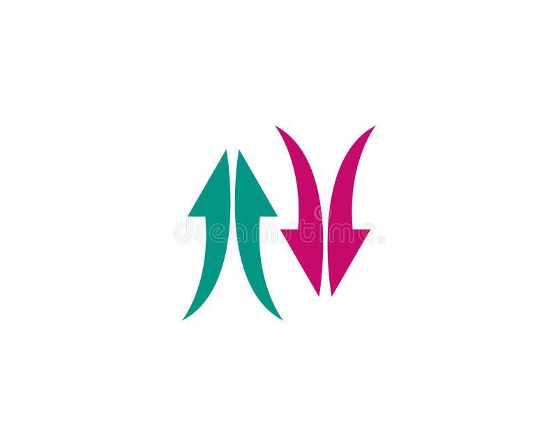 Strza?a logo szablonu ikony wektorowa ilustracja ilustracja wektor