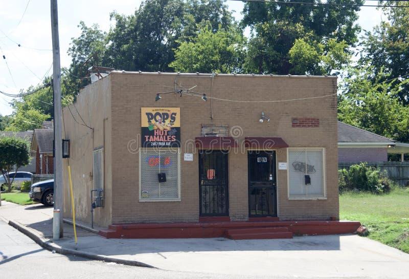 Strzela ` s Gorących tamales, Memphis, TN zdjęcia stock