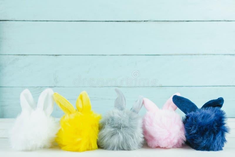 Strzelający dekoraci tła Szczęśliwy Wielkanocny wakacyjny pojęcie obraz royalty free