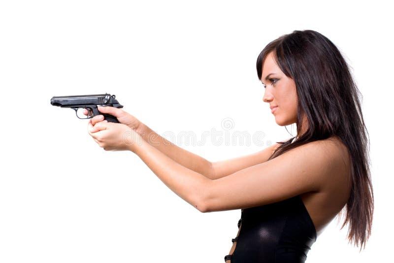 strzelający fotografia royalty free