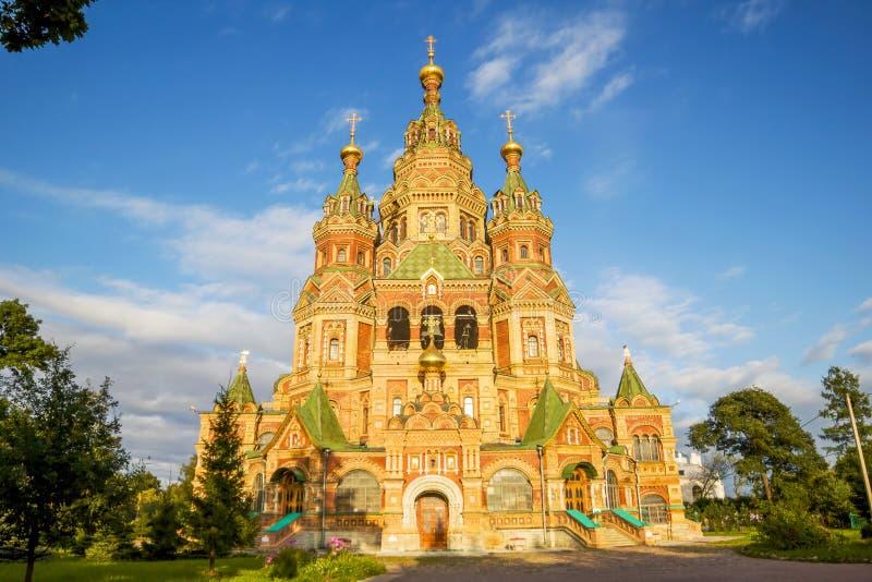 Sts.彼得和保罗大教堂 免版税库存照片