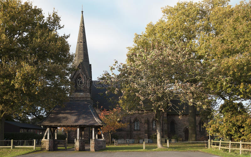 Sts John kyrkliga Toft arkivbild
