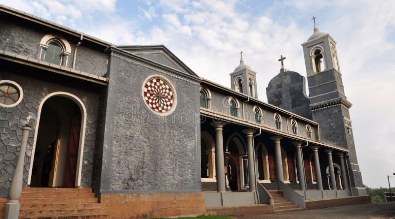 Sts Mary Christian Cathedral, Galle Sri Lanka arkivbilder