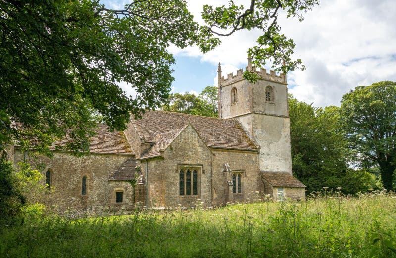 Sts Mary kyrka, Beverston arkivbild