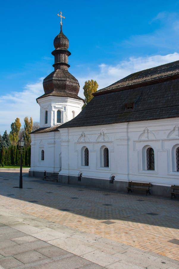Sts Michael Guld--kupolformiga kloster, Kiev, Ukraina arkivfoto