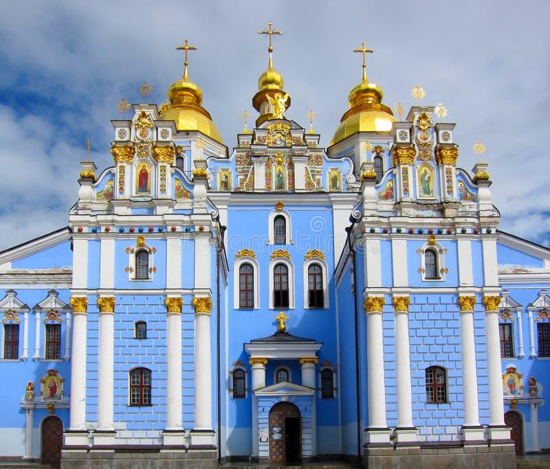 Sts Michael kloster, Kiev Ukraina arkivfoton