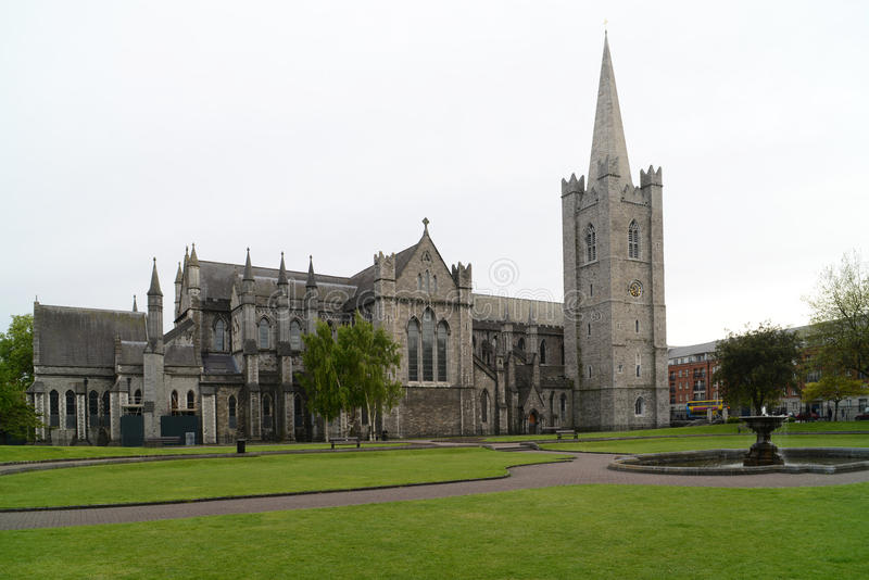 Sts Patrick domkyrka Dublin royaltyfri foto