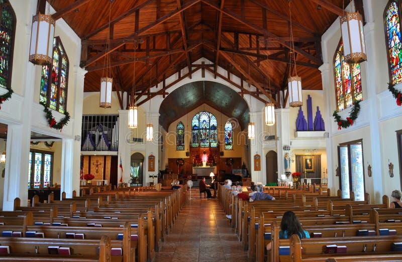 Sts Paul episkopalkyrkan, Key West royaltyfri foto