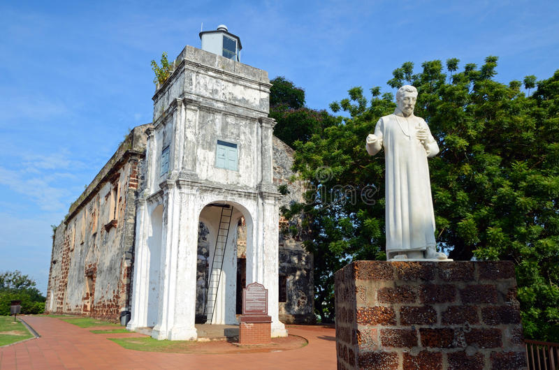 Sts Paul kyrka arkivfoto