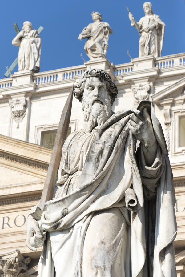 Sts Peter basilika, Vatican City detalj arkivbilder