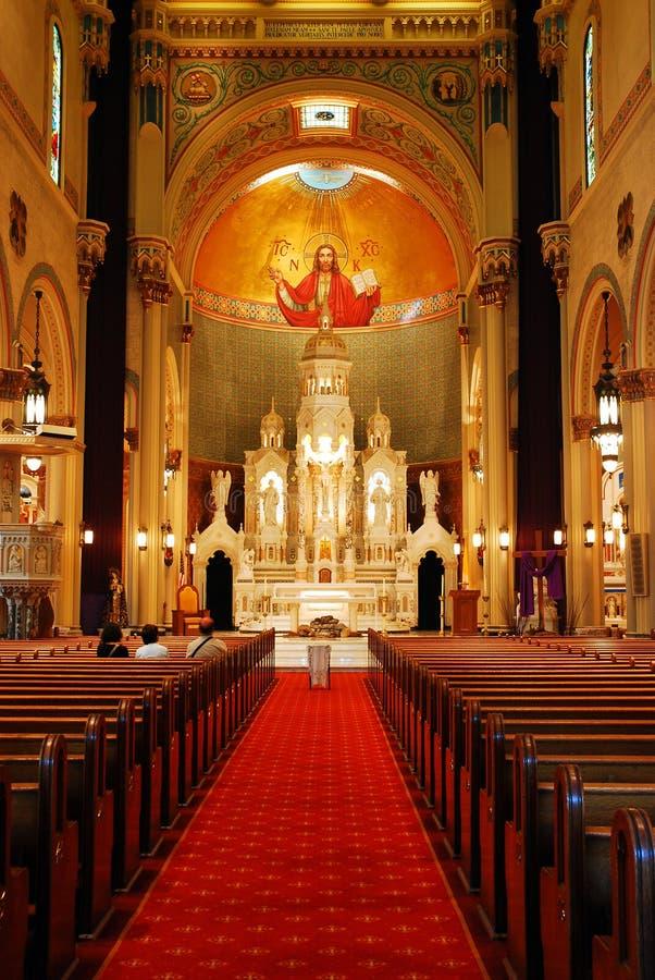 Sts Peter och Paul Church, San Francisco royaltyfri foto