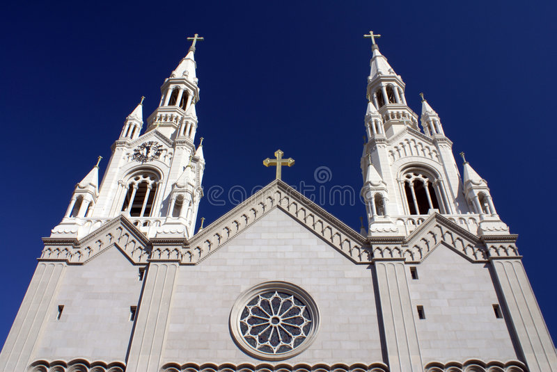 Sts. Peter and Paul Church stock images