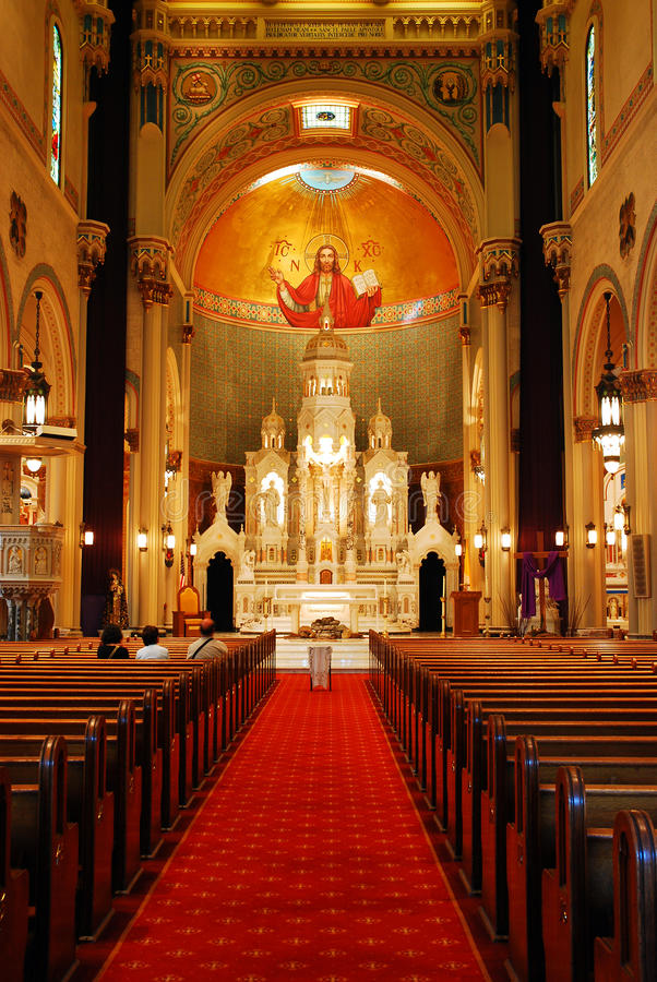 Sts Peter and Paul Church, San Francisco royalty free stock photo