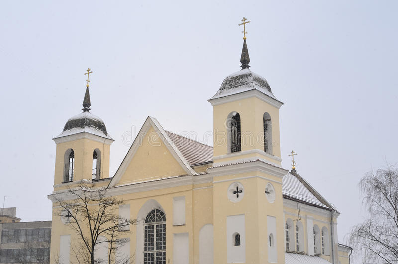 Sts. Peter and Paul Orthodox Church, Minsk royalty free stock photography