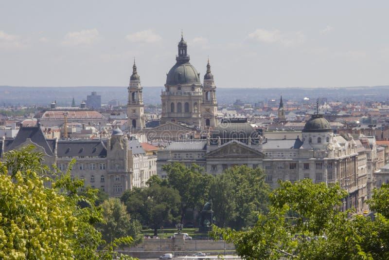 Sts Stephen basilika i Budapest royaltyfri bild