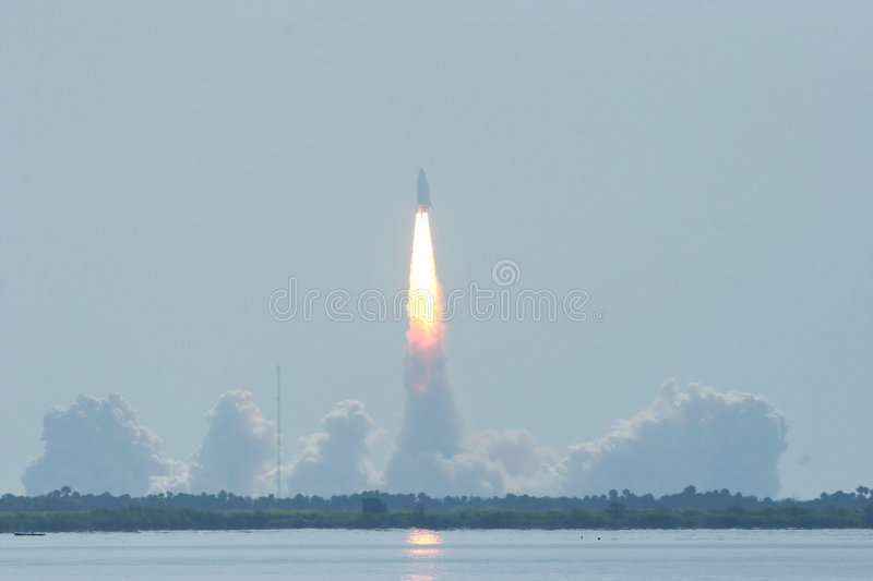 STS114 Shuttle Launch. Space Shuttle Launch of the STS114 royalty free stock photography