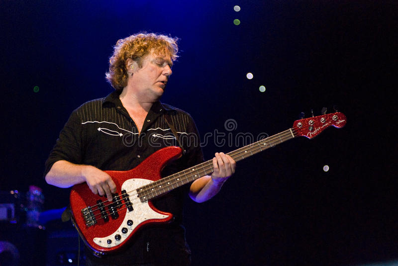Stu Hamm in Concert royalty free stock photo