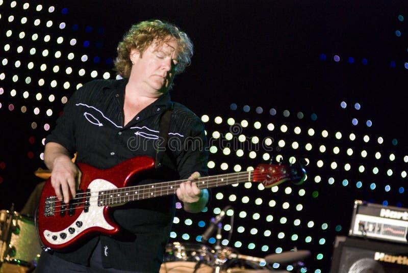 Stu Hamm in Concert stock image