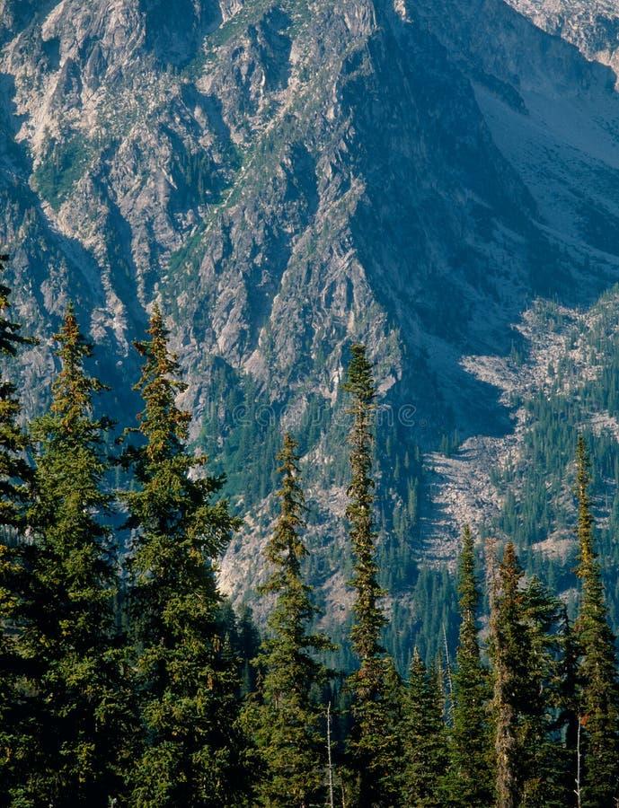 Stuart Range dal passaggio navajo, foresta nazionale di Wenatchee, laghi alpini regione selvaggia, Washington immagini stock