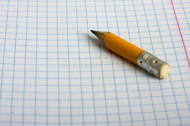 Stub карандаша стоковые изображения