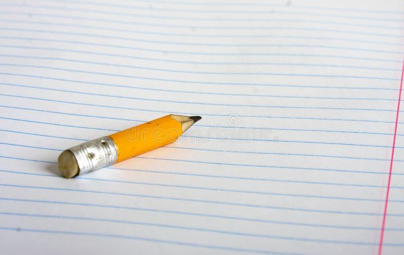 Stub карандаша стоковые изображения rf