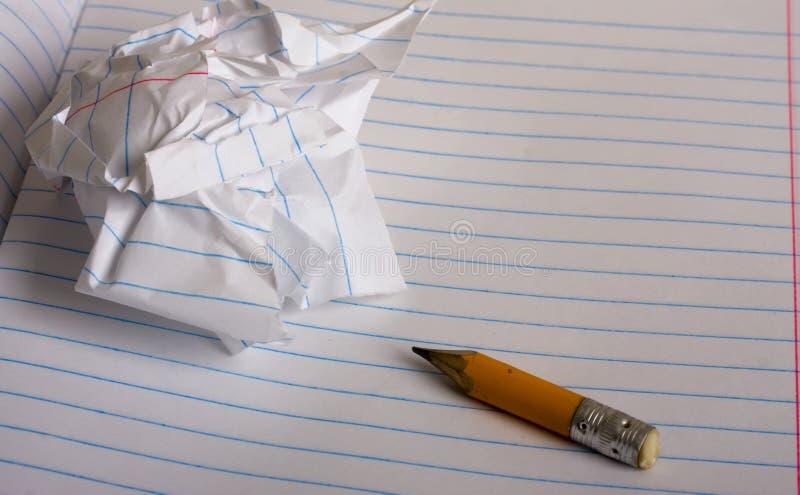Stub карандаша стоковое изображение