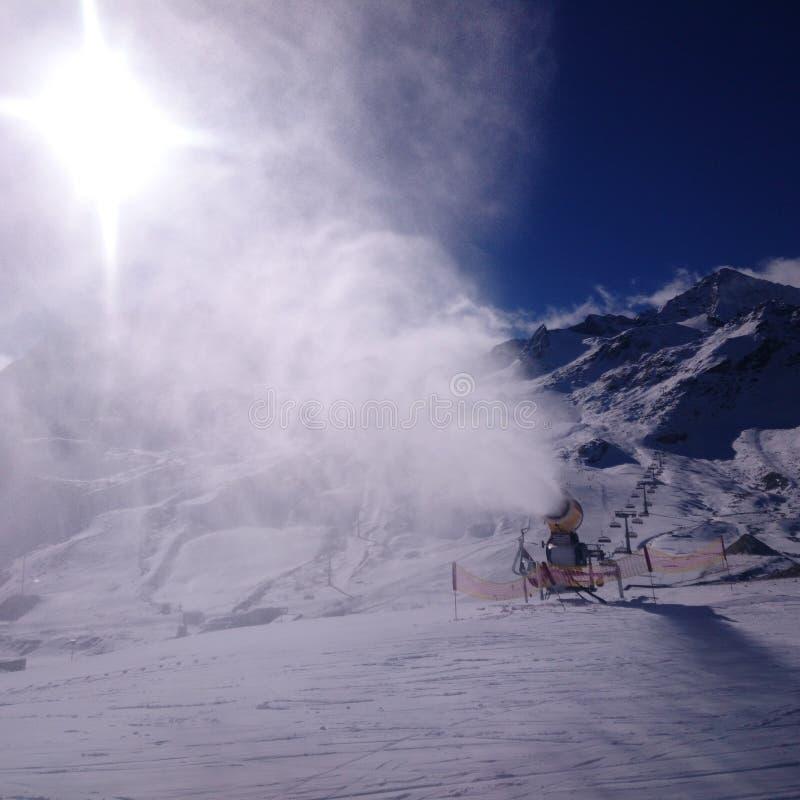 Stubaier Gletscher images stock